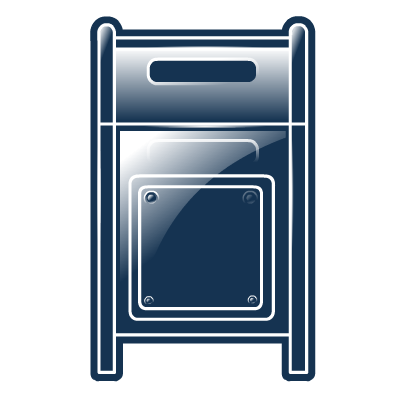Mailbox Icon Png image #20513