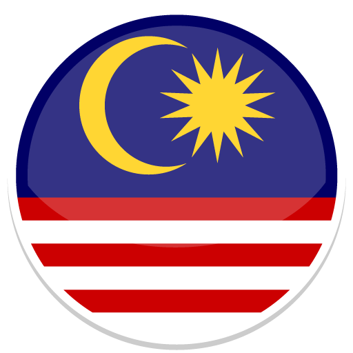 Malaysia Icon Round World Flags image #41827