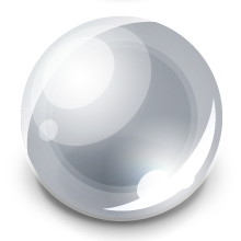 marble silver icon png