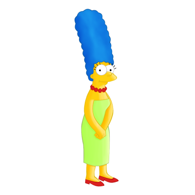 Marge Simpson Png image #39229
