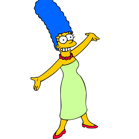 Marge Simpson Png image #39230