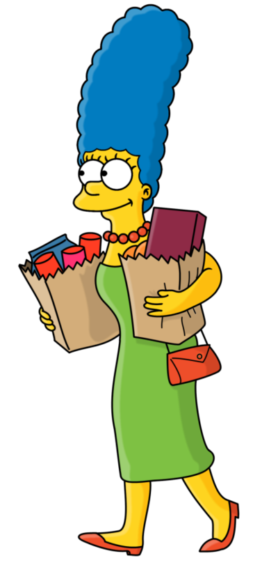 Marge Simpson Png image #39238