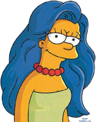 Marge Simpson Png image #39239