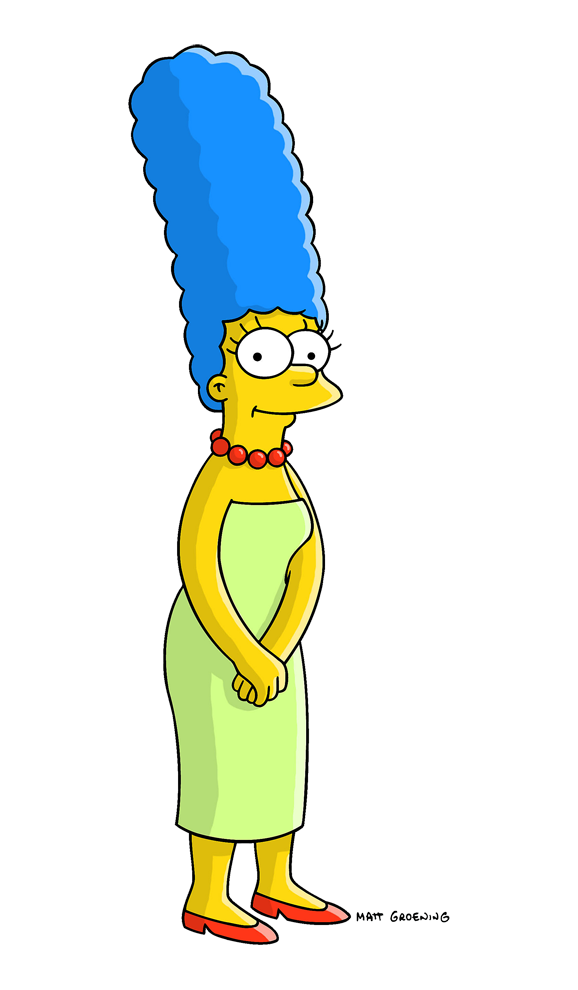 Marge Simpson Png image #39231