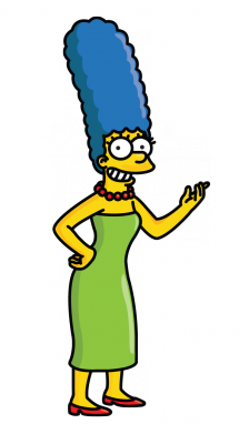Marge Simpson Png image #39247