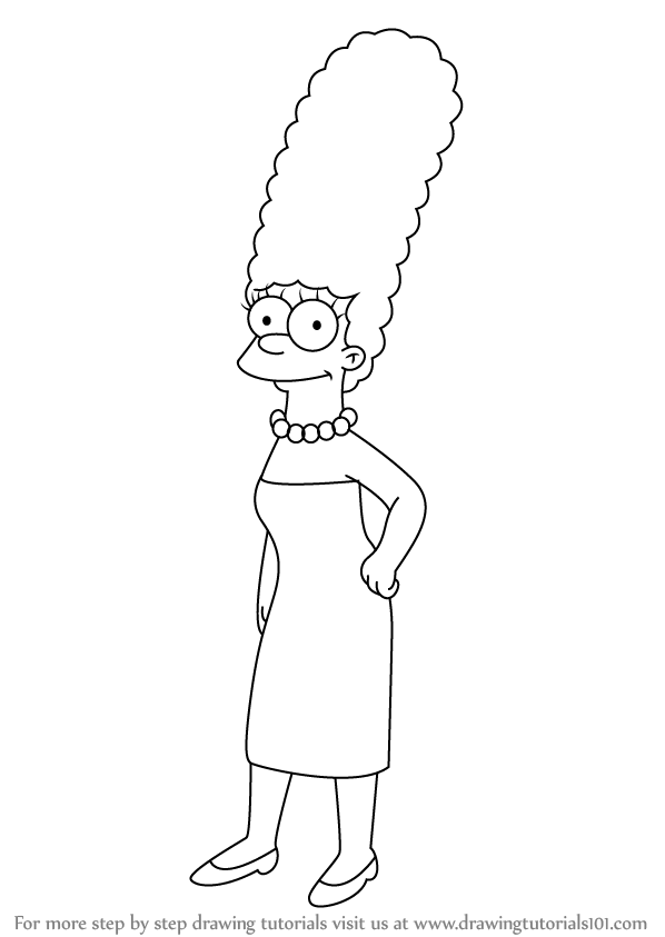 Marge Simpson Png image #39251