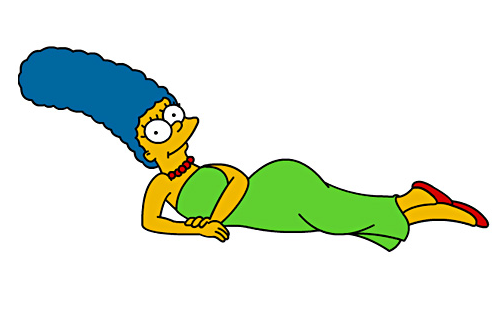 Marge Simpson Png image #39252