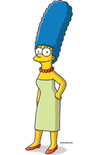 Marge Simpson Png image #39234