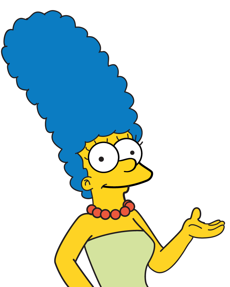 PNG Clipart Marge Simpson image #39235