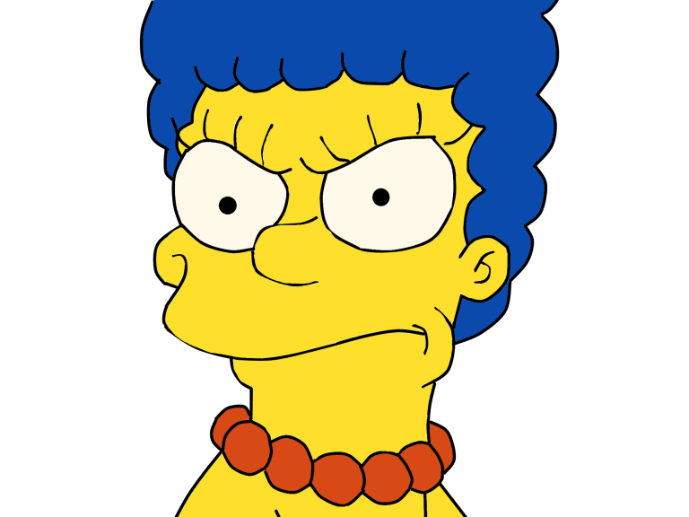 Marge Simpson Png image #39237