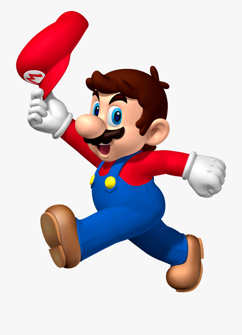 mario bros super cartoon pp cape png