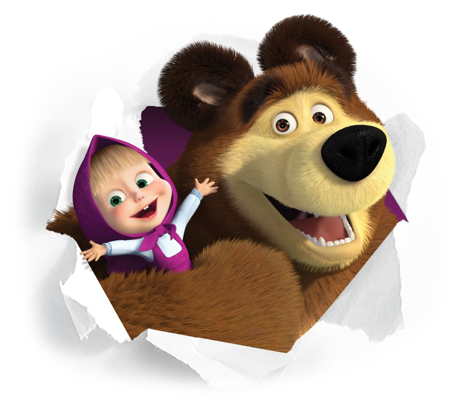 Masha And The Bear Free Images Png image #47258