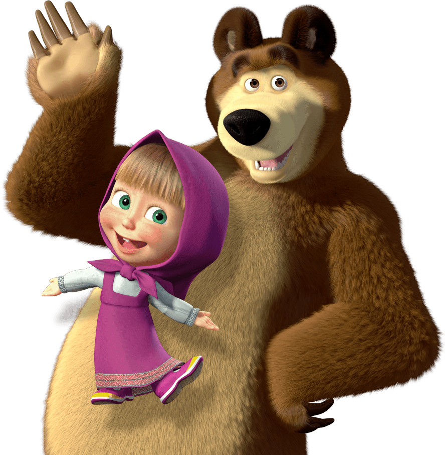 Masha And The Bear PNG Picture image #47244