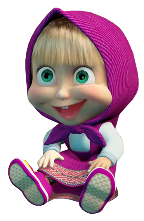 Masha Sit Down PNG Free Download image #47246