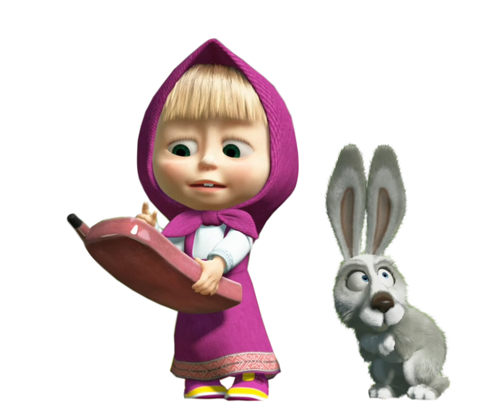 Masha With Rabbit Pics image #47255