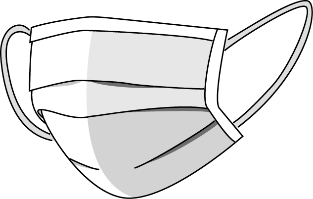 Mask black and white clipart png
