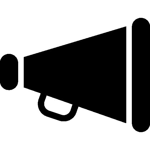 Megaphone Vector Save Icon Format image #45768