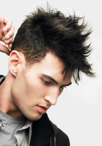 Men Spiky Hairstyle Png image #26114