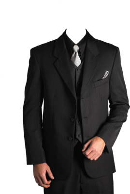 Men Suit File PNG