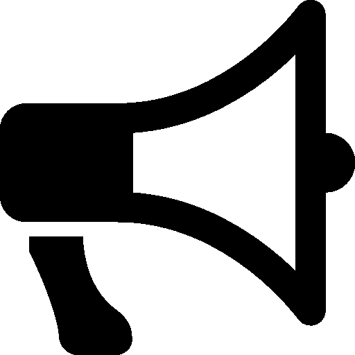 Messaging Megaphone 2 Icon | Android Iconset | Icons8