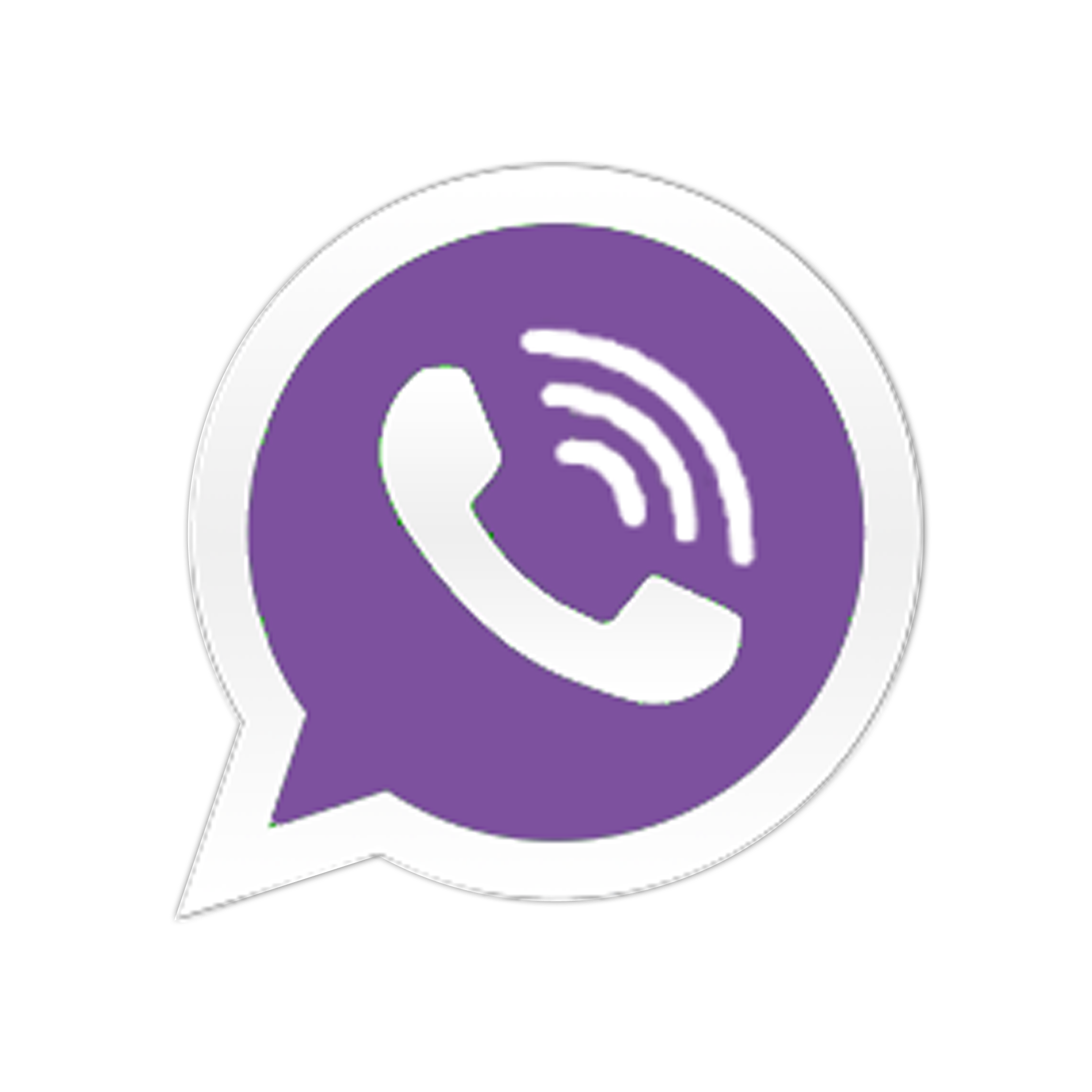 Messaging Viber Logo Purple Photo image #48160