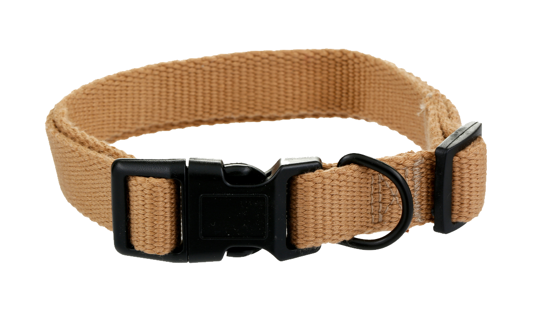Metal dog collar Black beige belt and PNG image