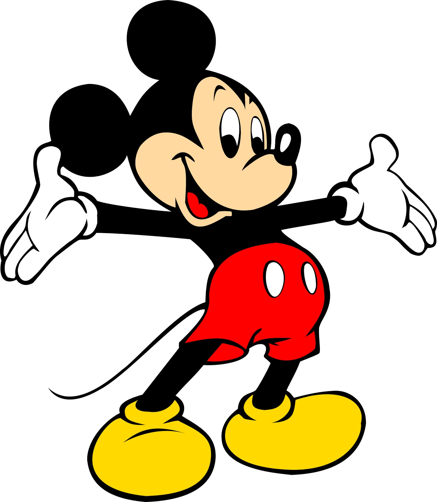 Vector Mickey Mouse Png image #12207