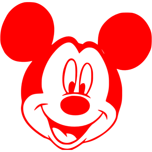 Mickey Mouse  Icon Library image #12189
