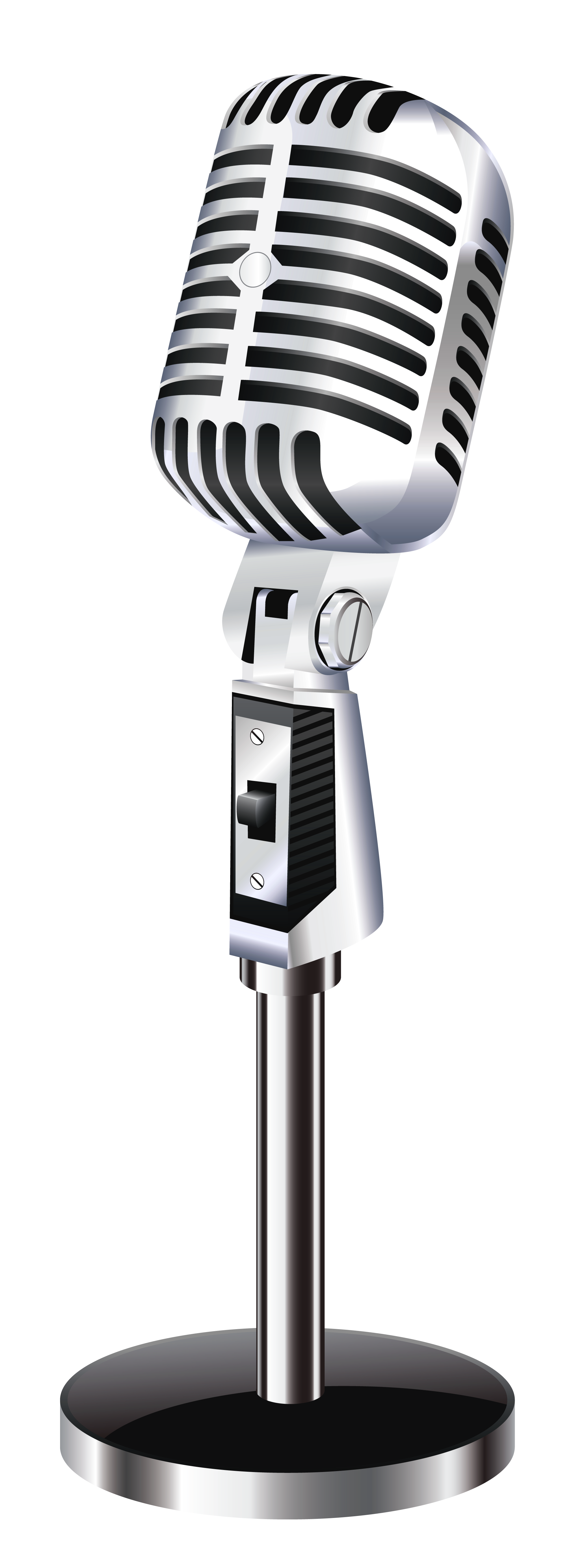 Microphone Clip Art image #19972