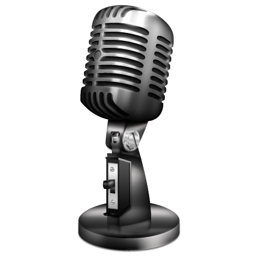 Microphone vintage icon png