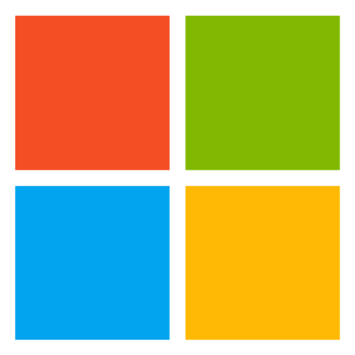 Microsoft New Logo Simple image #12760