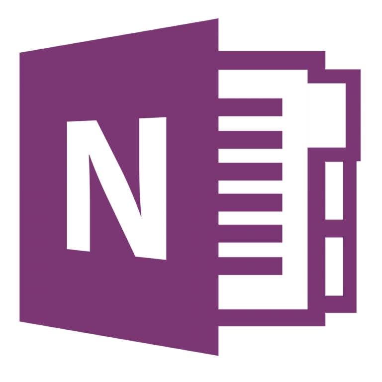 Microsoft One Note Icon image #37648