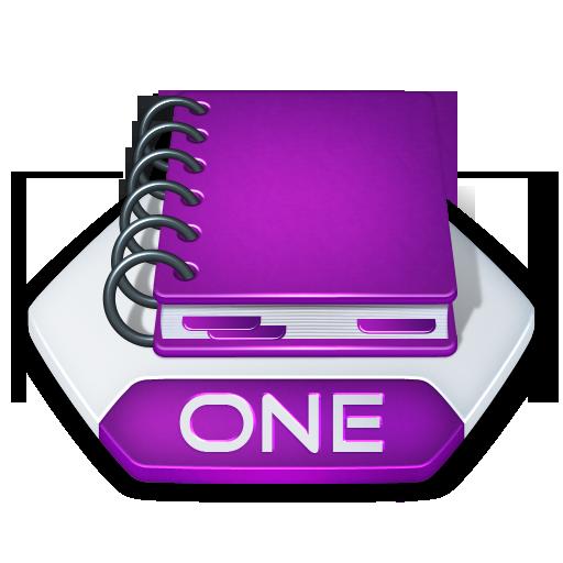 Microsoft Onenote Icon image #37671