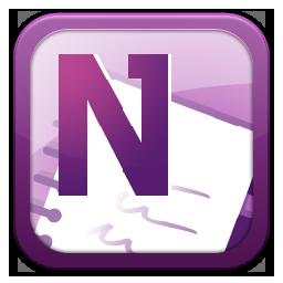Microsoft Onenote Icon image #37676