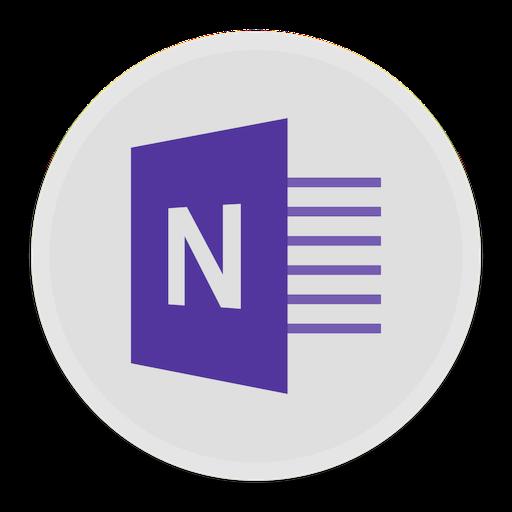 Microsoft Onenote Icon image #37651
