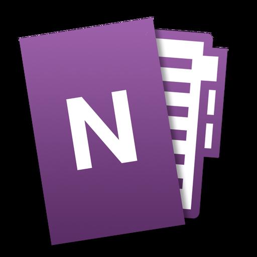 Microsoft Onenote Icon image #37655