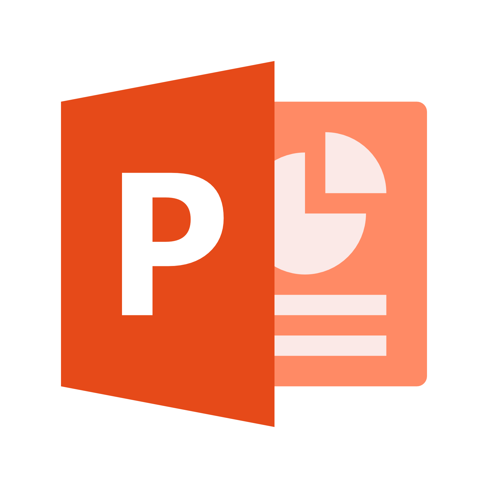 Microsoft Powerpoint Document Icon image #43934