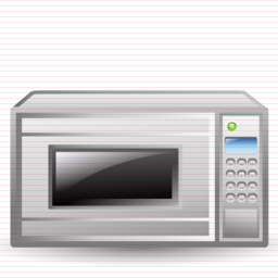 Windows Icons Microwave For