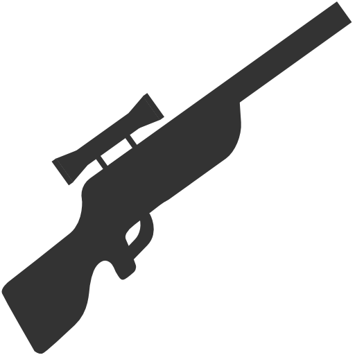 Military Sniper rifle icon
