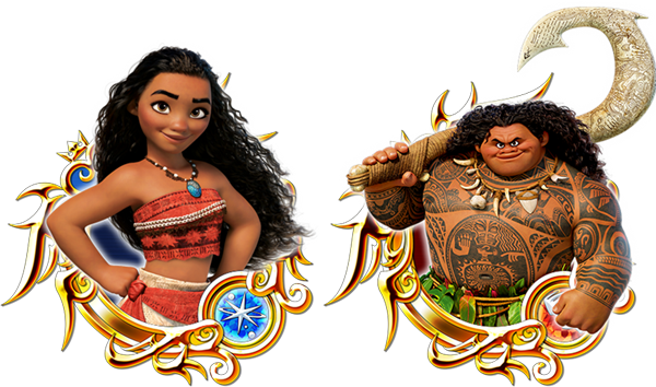 Moana and Maui Png Transparent Background