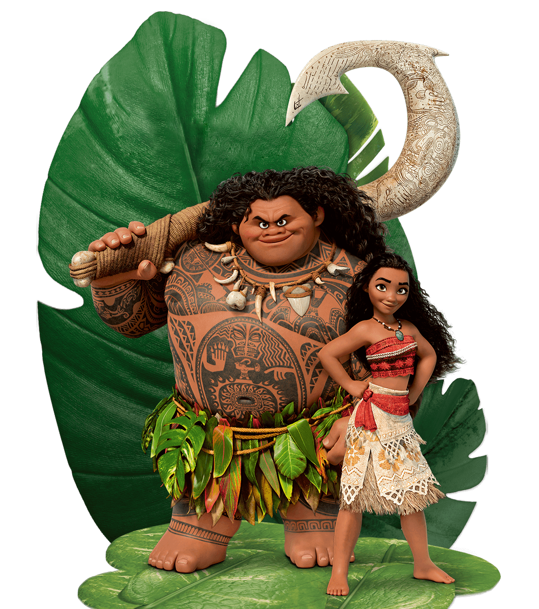 Moana E Maui Transparent Png 46110 Free Icons And Png
