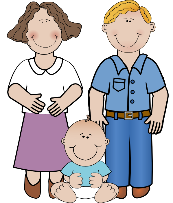 Mom, Dad And Baby Boy Png image #42641