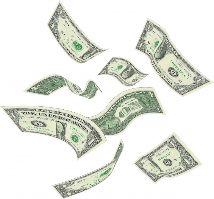 Transparent PNG Money image #22628