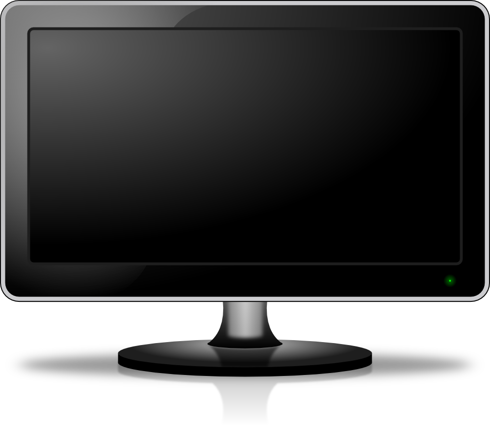 monitor, lcd screen icon png