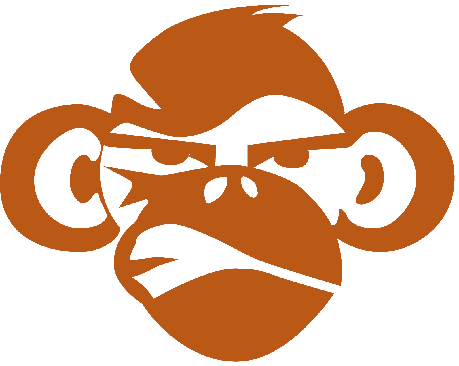 Monkey Face Png image #26154
