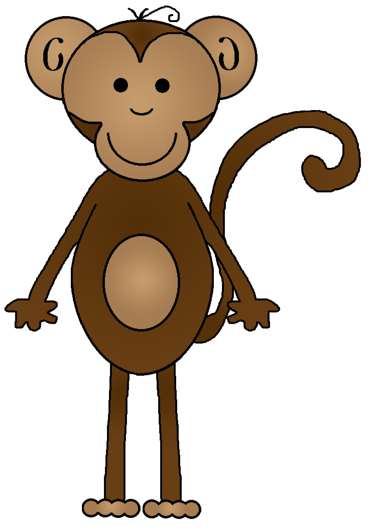 Monkey Designs Png image #26152