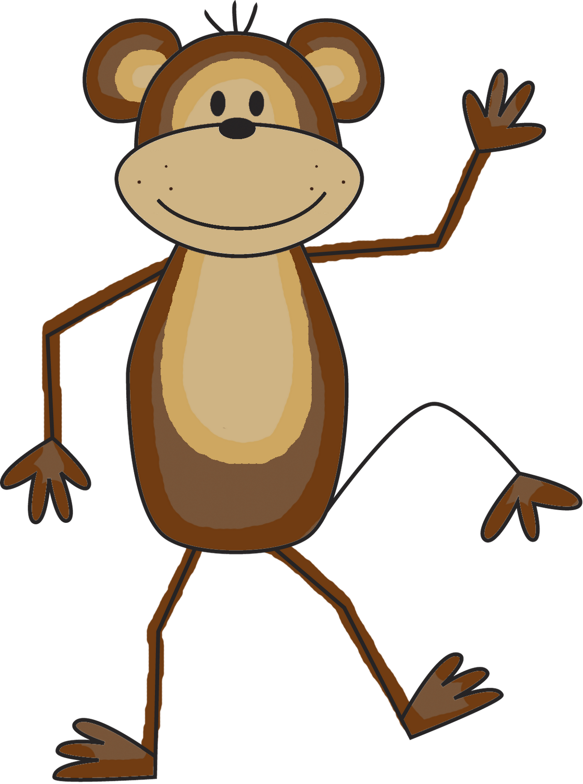Best Png Clipart Monkey image #26169