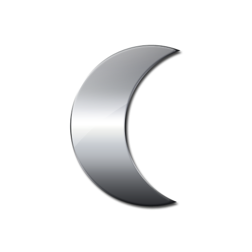 Download Moon Icon Png image #23635