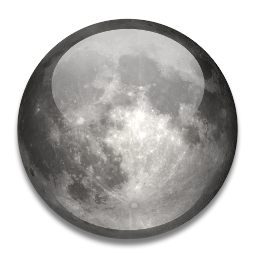 Png Moon Download Icon image #23630