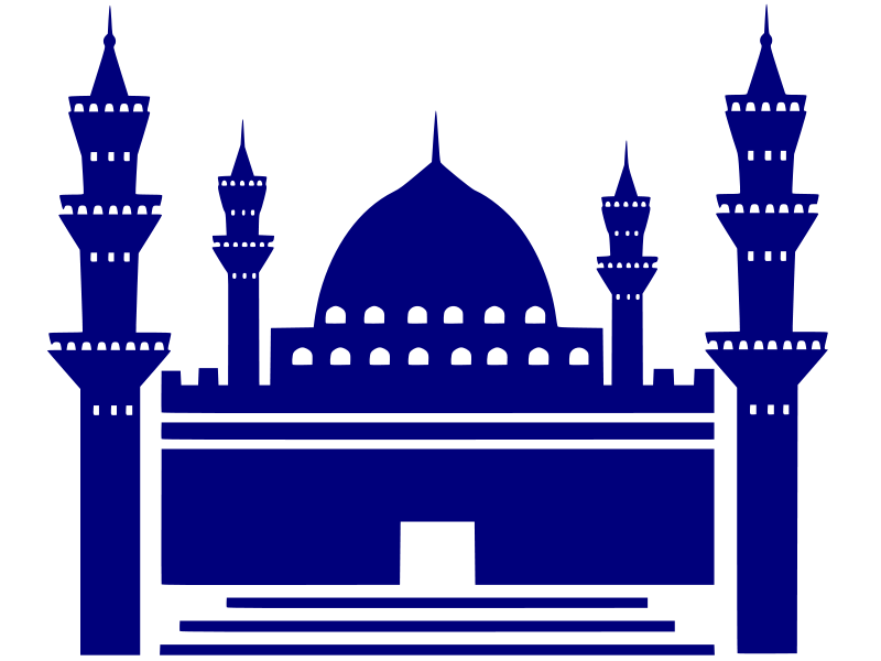 Mosque Blue Icon image #2934